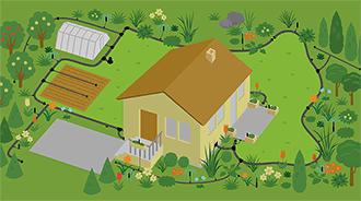 interaktivní zahrada