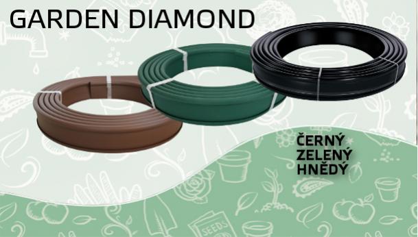 Zahradní obrubník GARDEN DIAMOND